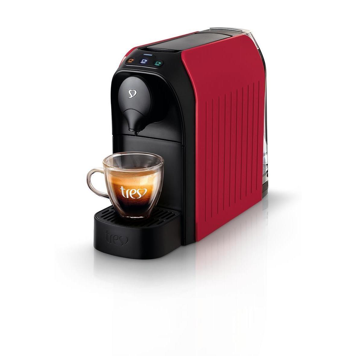 Cafeteira Eletrica Espresso Tres Passione Vermelha - 220V