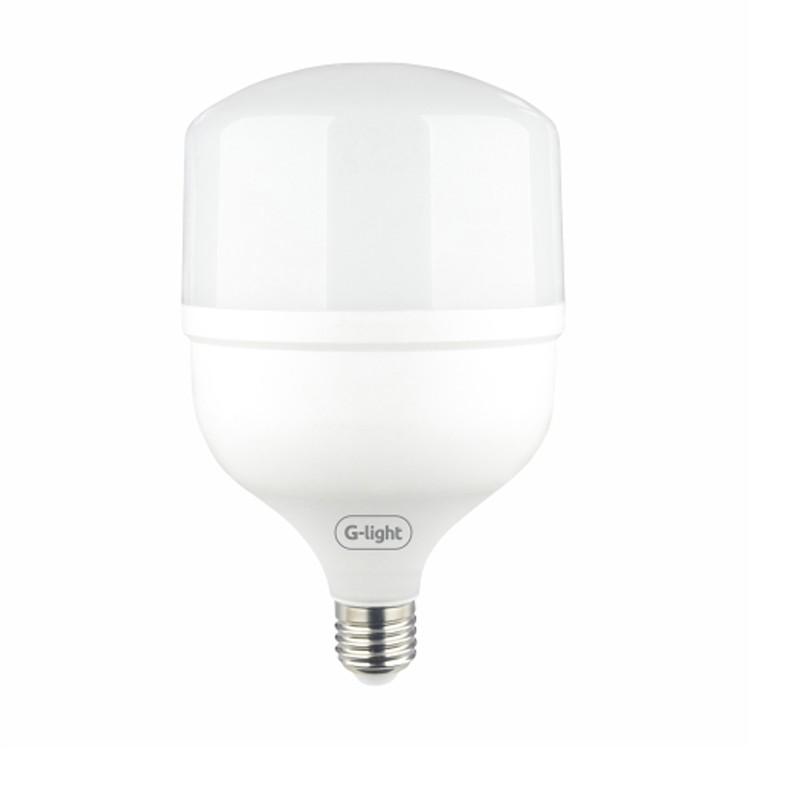 Lampada LED 50W E27 Bulbo T Autovolt Branca - Glight