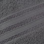 Toalha de Banho Royal 100% Algodão 70x130 cm Cinza - Santista
