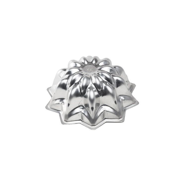 Forma Cascata para Bolo em Aluminio Polido 22cm 2875 - Caparroz