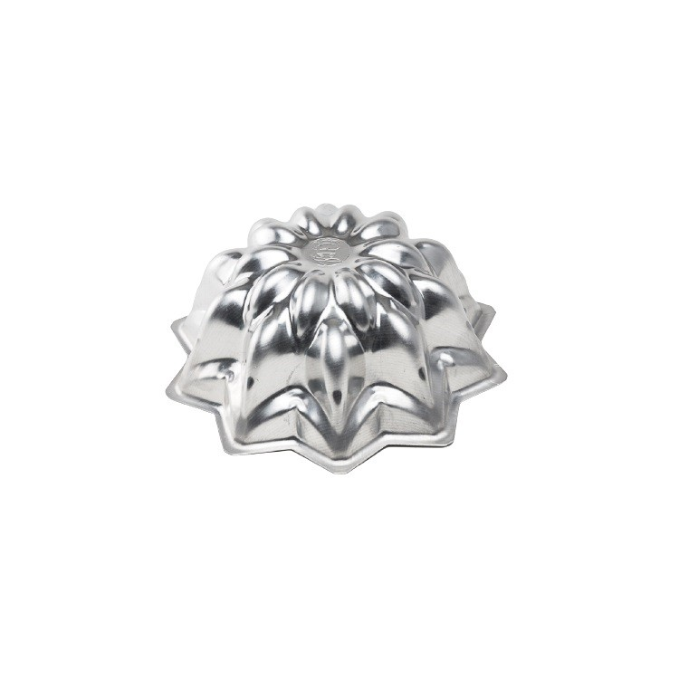 Forma Cascata para Bolo em Aluminio Polido 22cm - Caparroz