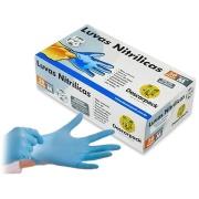 Luvas Nitrílicas G sem Pó Azul - Descarpack