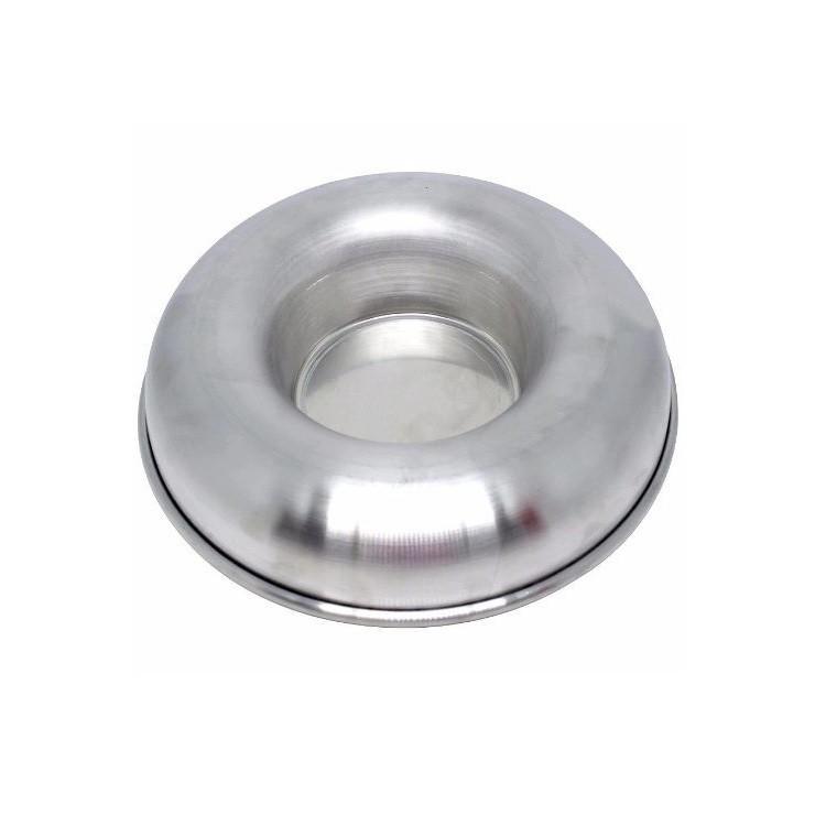 Forma de Aluminio Polido 24cm Bolo de Vidro - Caparroz