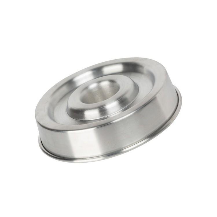 Forma Ballerine 26cm em Aluminio Polido - Caparroz