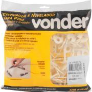 Espaçador e Nivelador para Piso 1,5mm Amarelo - Vonder