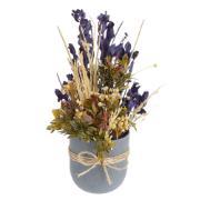 Arranjo Decorativo Flores Secas 30cm - Dea