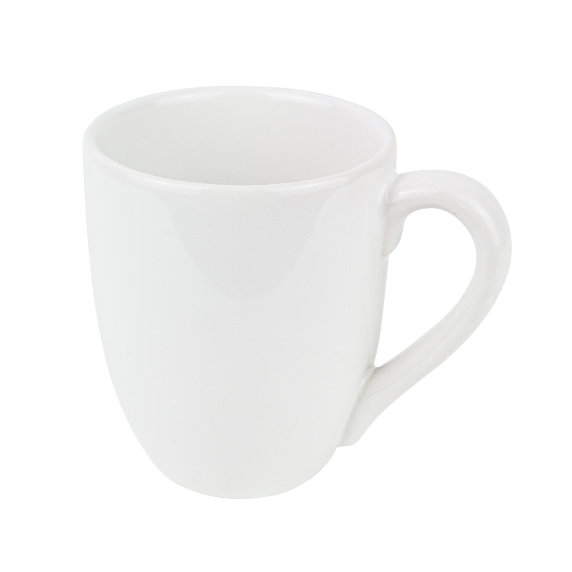 Caneca de Ceramica 270ml Branca - Oxford