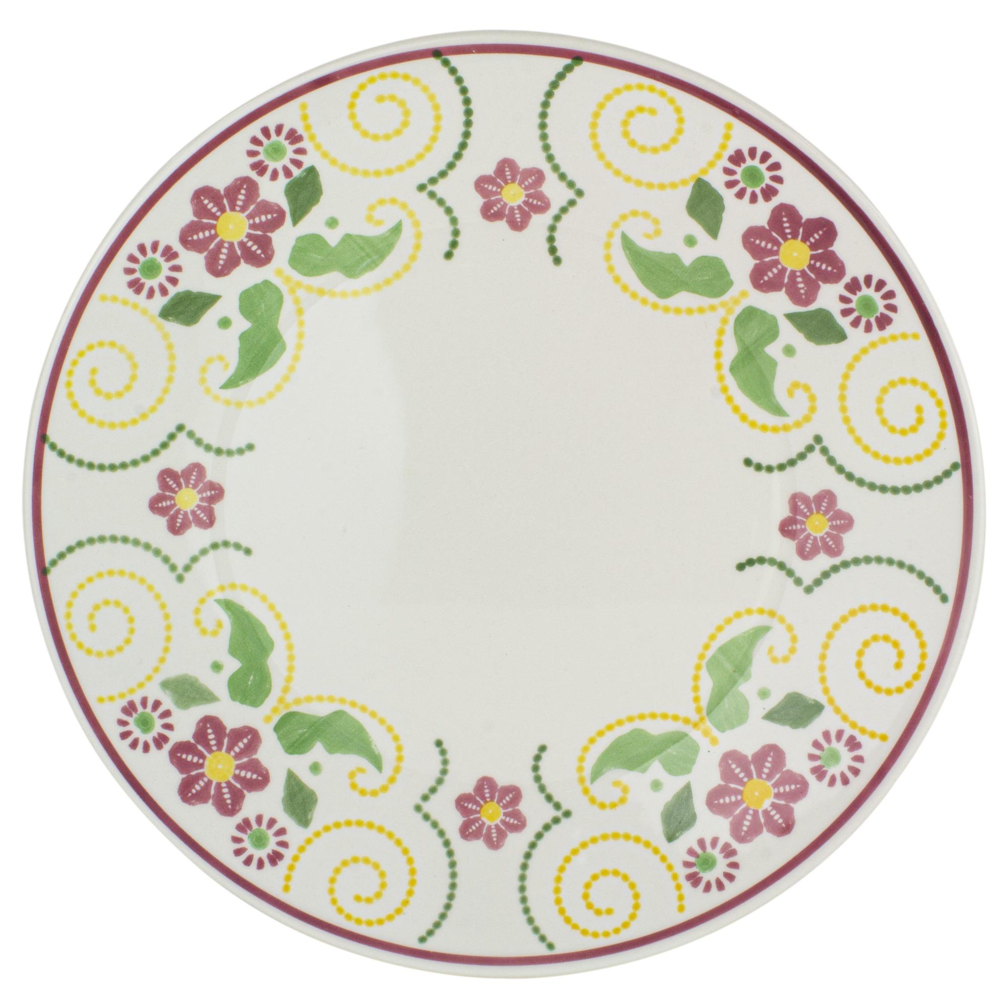 Prato de Raso Ceramica 26cm Actual Sortidos - Oxford