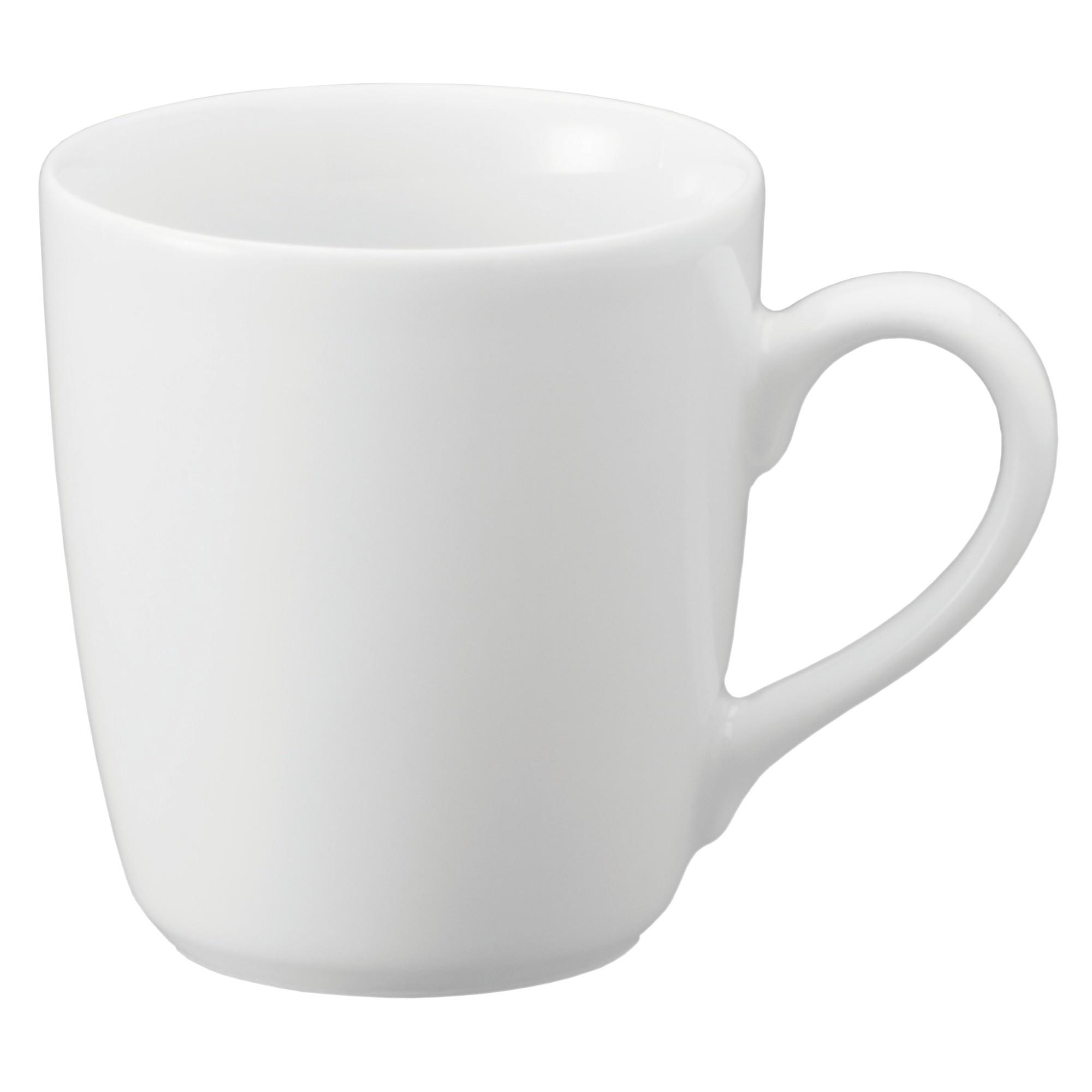 Caneca de Porcelana 225ml Branca - Schmidt