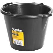 Balde de Plástico para Concreto 12 litros - Vonder