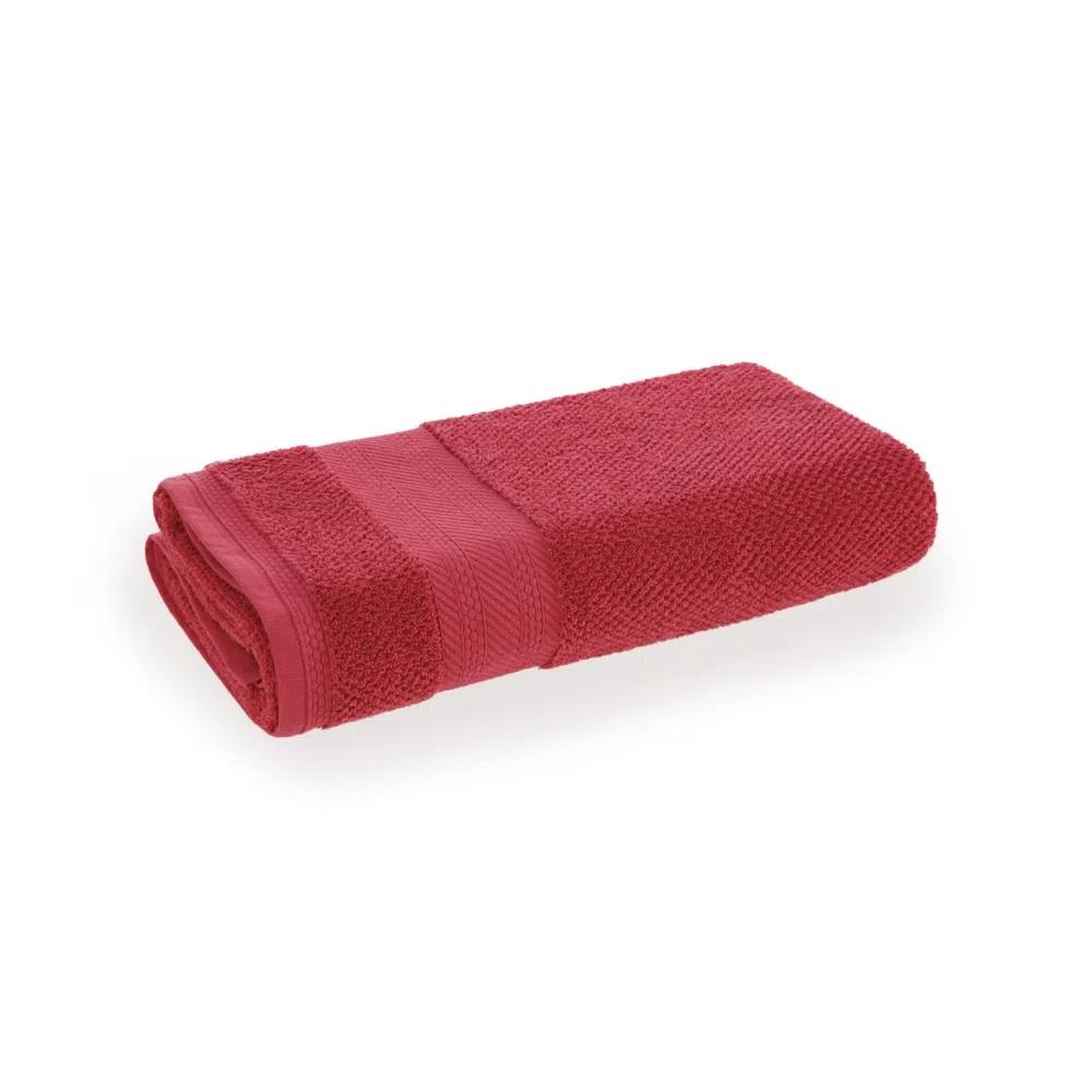Toalha de Rosto Empire 100 Algodao 48x70 Cm Vermelho - Karsten