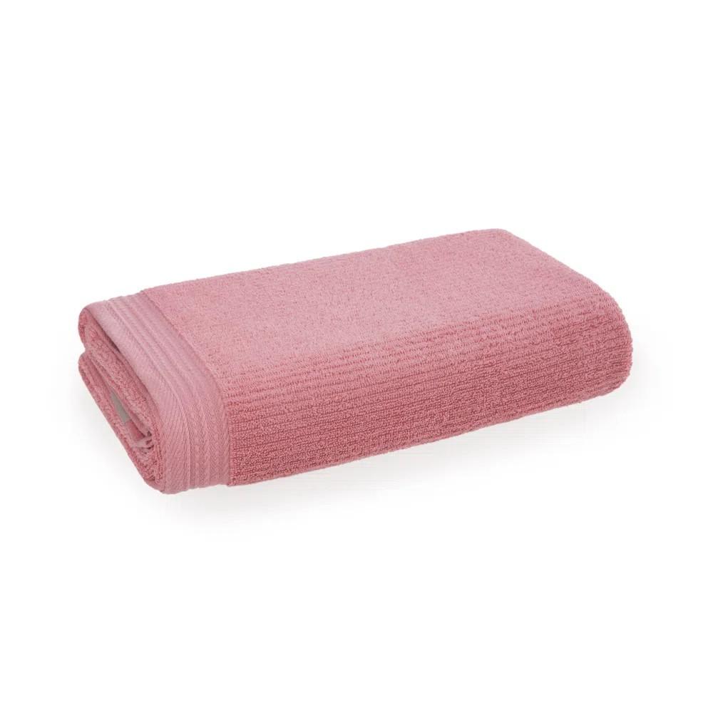 Toalha de Rosto Imperial 100 Algodao 48x70 cm Rosa - Karsten