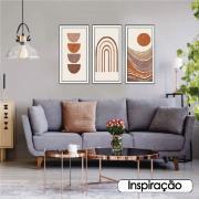 Quadro Decorativo 33x70cm Geométrico 904/15 - Art Frame