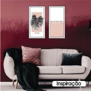 Quadro Decorativo 33x70cm Seja Sua Melhor Versão - Art Frame