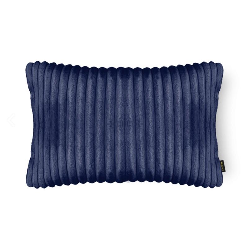 Almofada Soft 28x48cm Azul Poliester - Belchior
