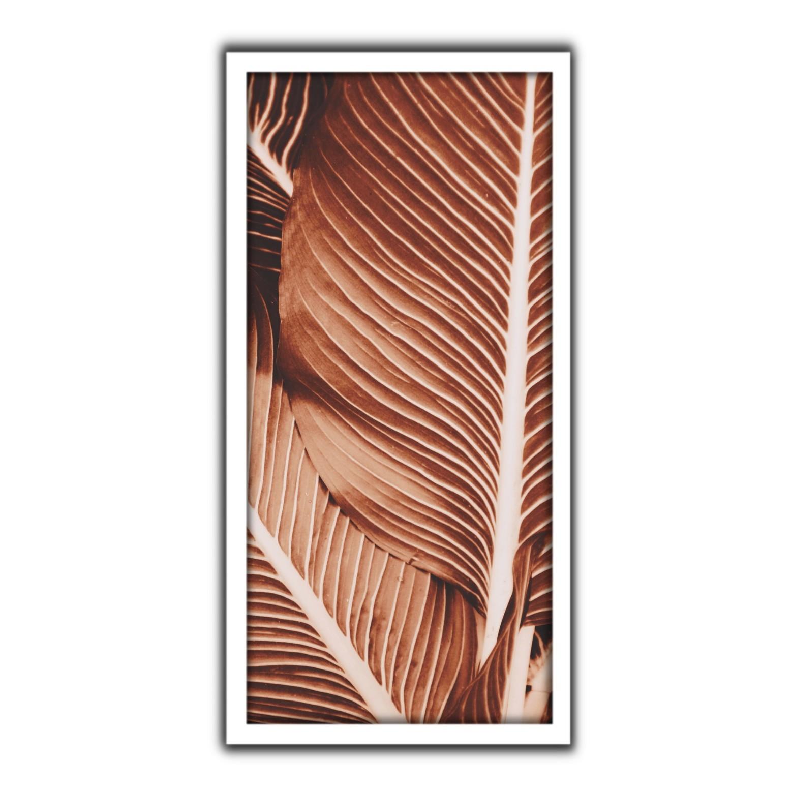 Quadro Decorativo 33x70cm Folhagem 90421 - Art Frame