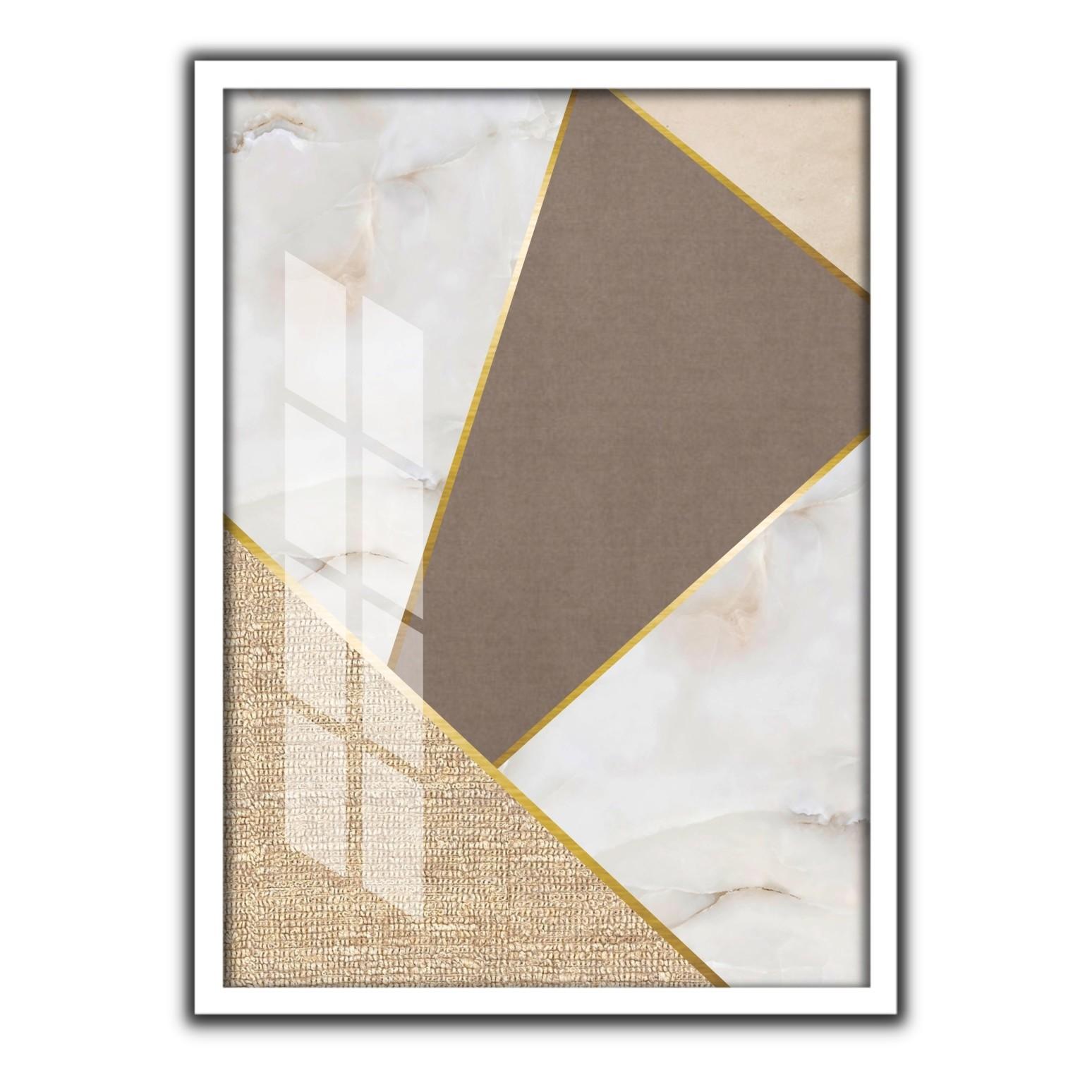 Quadro Decorativo 50x70cm Geometrico 90513 - Art Frame