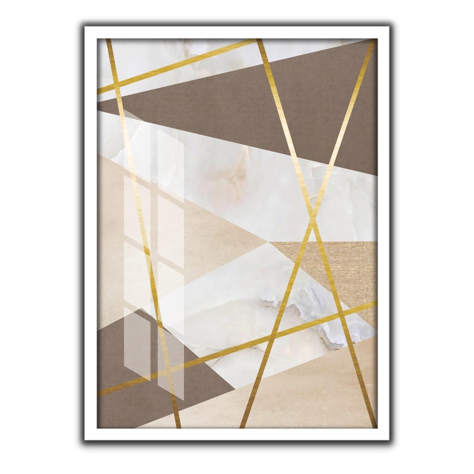 Quadro Decorativo 50x70cm Geometrico 90514 - Art Frame