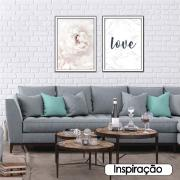 Quadro Decorativo 50x70cm Flor - Art Frame