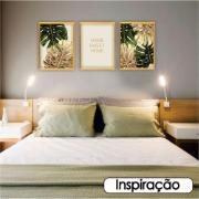 Quadro Decorativo Folhagem 30x40cm 339/3 - Art Frame