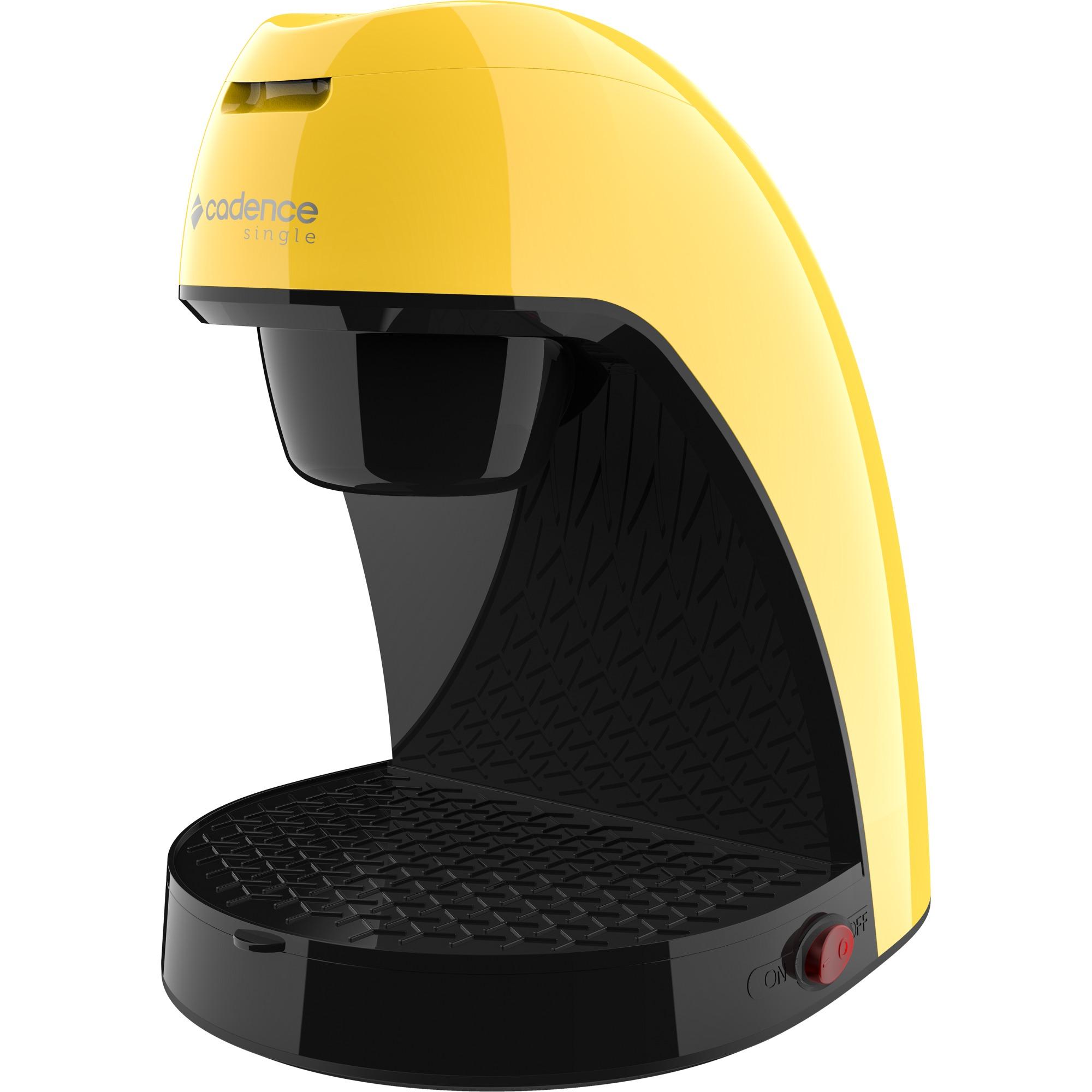 Cafeteira Eletrica Single Cadence Amarela - 220V - CAF214