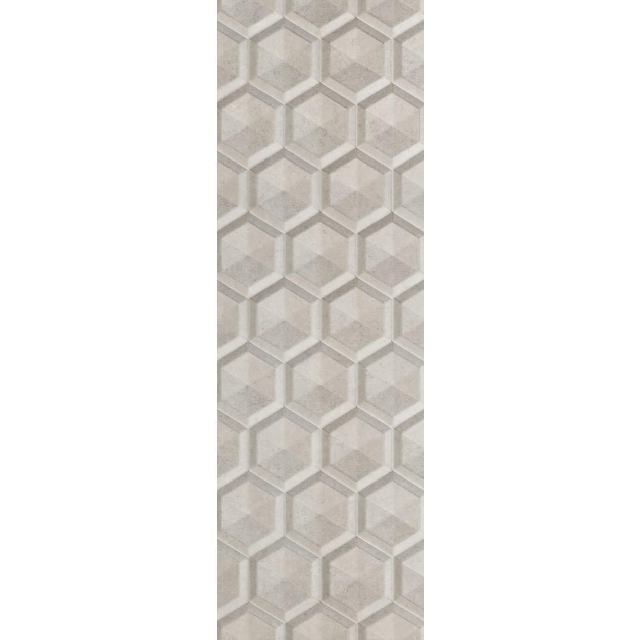 Revestimento Tipo A 30x90 cm Brilhante Colmeia Cimento 162m - Eliane