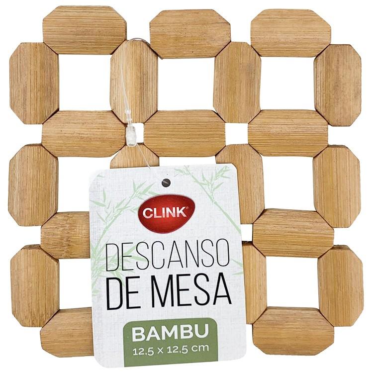 Descanso para Panela de Bambu 125x125cm - Clink