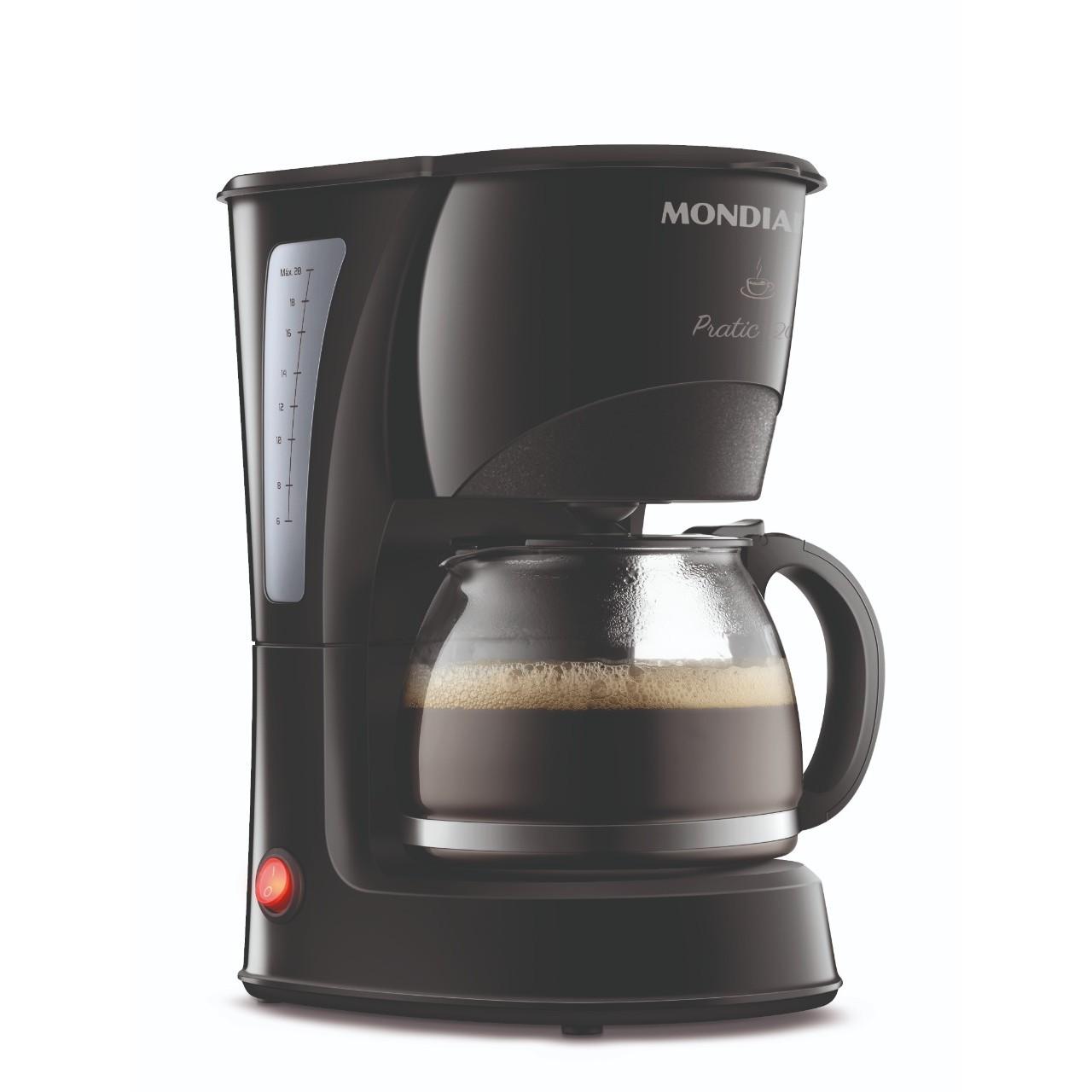 Cafeteira Eletrica Mondial 20 Xicaras 220V - Preta