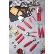 Espremedor de Alho Tramontina Utilita em Aço Inox Vermelho
