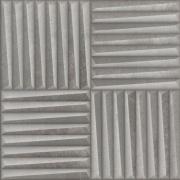 Porcelanato Motriz Cinza AC 59x59 Acetinado - Eliane Ba