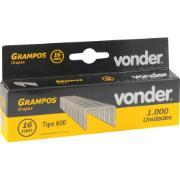 Grampo para Grampeador/Pinador Elétrico GPE-916 16mm 1.000 Peças - Vonder