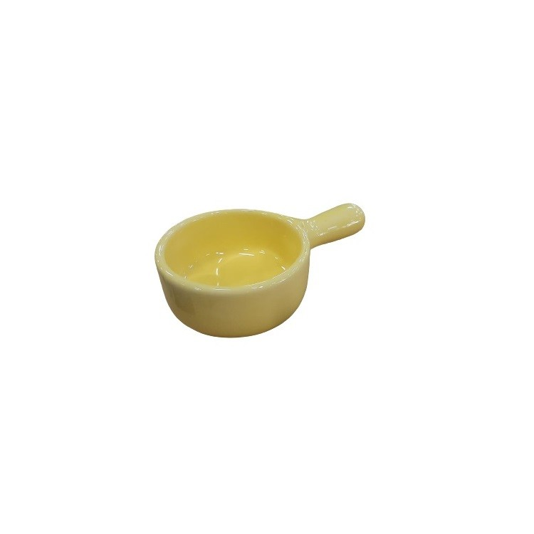 Petisqueira de Ceramica 13cm Amarela - Scalla