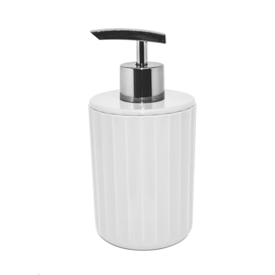 Porta Sabonete Liquido Groove de Poliestireno Bancada - PSG 723 - Ou