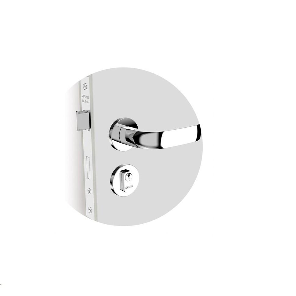 Fechadura para Porta Externa Icaro Prata - Soprano