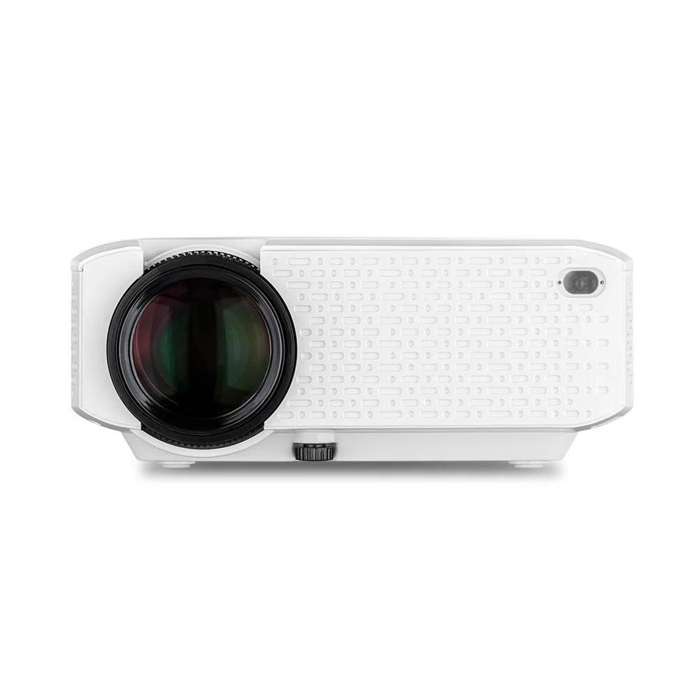 Smart Screen Linx Multilaser com Projetor 1800 Lumens Branco - PJ002