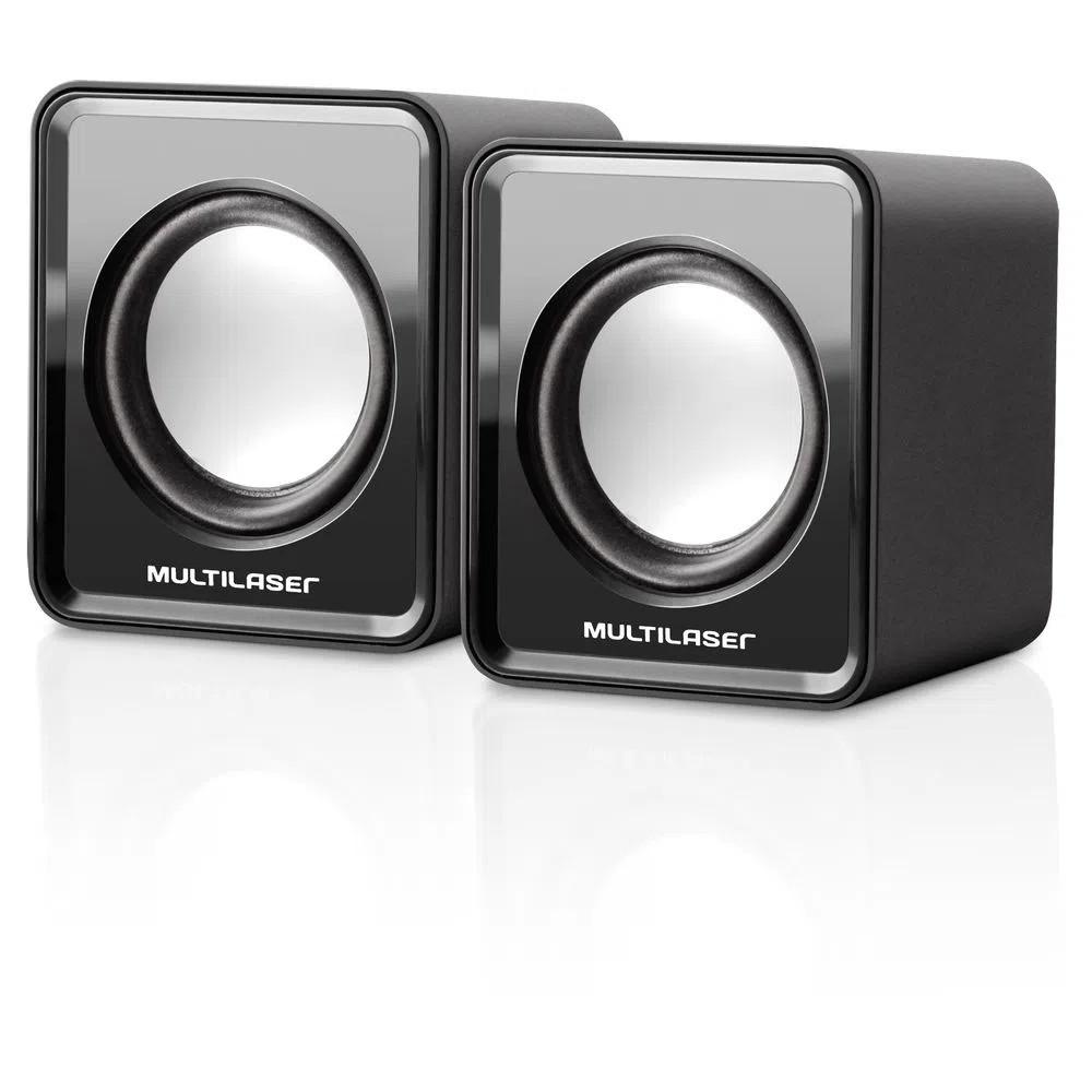 Caixa de Som Multilaser 20 Mini 3W SP144