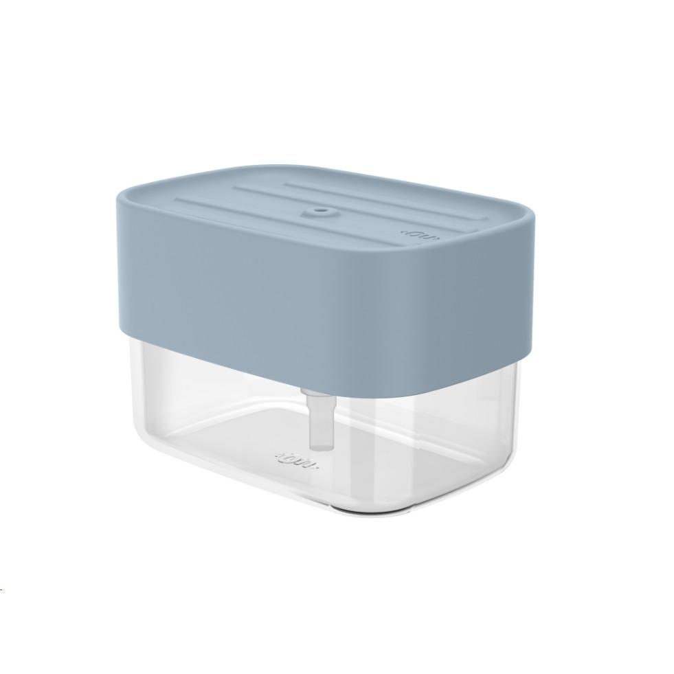 Dispenser de Detergente para Bancada Plastico Azul Glacial Fechado - Martiplast