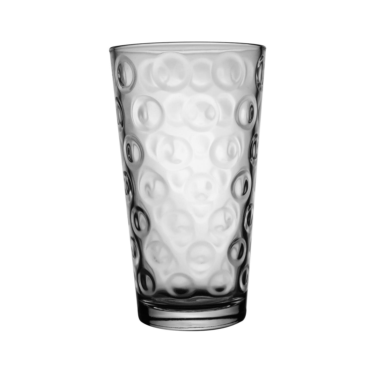 Copo Rings 470ml de Vidro Transparente - Mypa