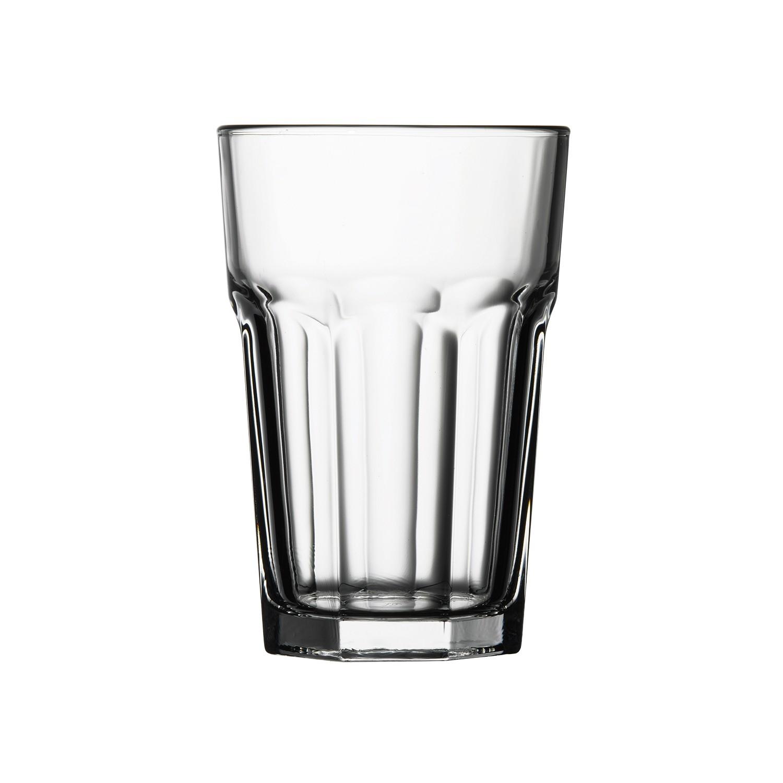 Copo Longo 410ml de Vidro Transparente - Mypa