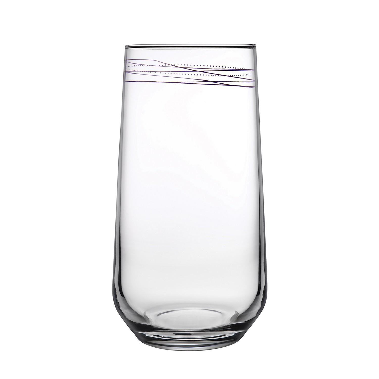 Copo Allegra 470ml de Vidro Transparente - Mypa