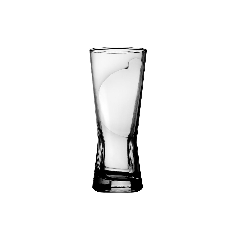 Copo Chopp 250ml de Vidro Transparente - Mypa