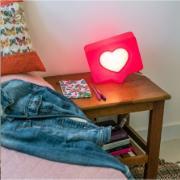 Luminária Amei 30x28x13cm E27 Vermelha - Usare