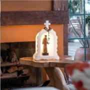 Luminária Oratório Natural 20x25x40cm E27 - Usare