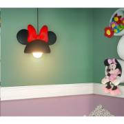 Lustre Orelha Minnie 28x25x42cm E27 Preto - Usare