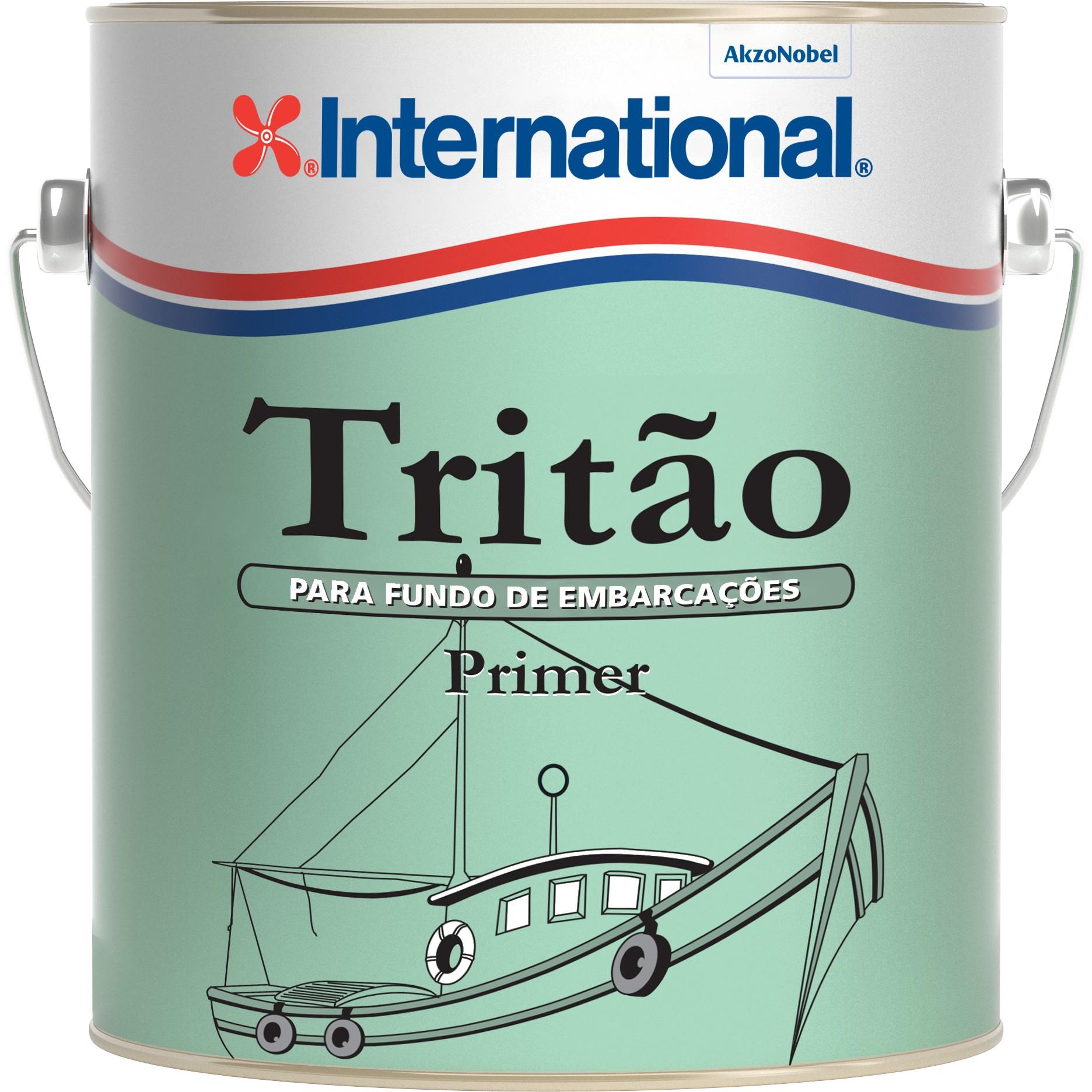 Primer Sintetico Tritao para Ferro 36L Vermelho - Internacional