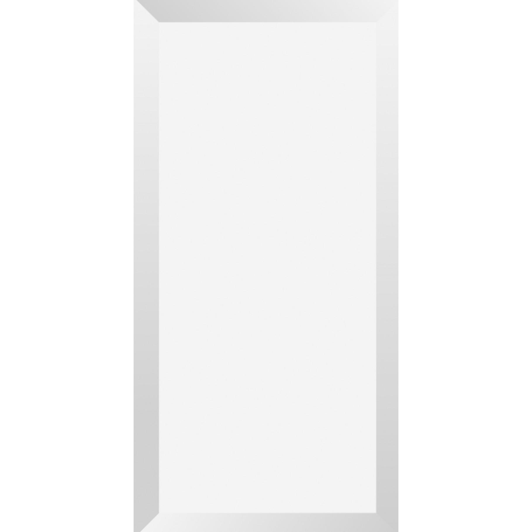 Revestimento Tipo A Brilhante Brick Branco 10x20cm Tecnogres