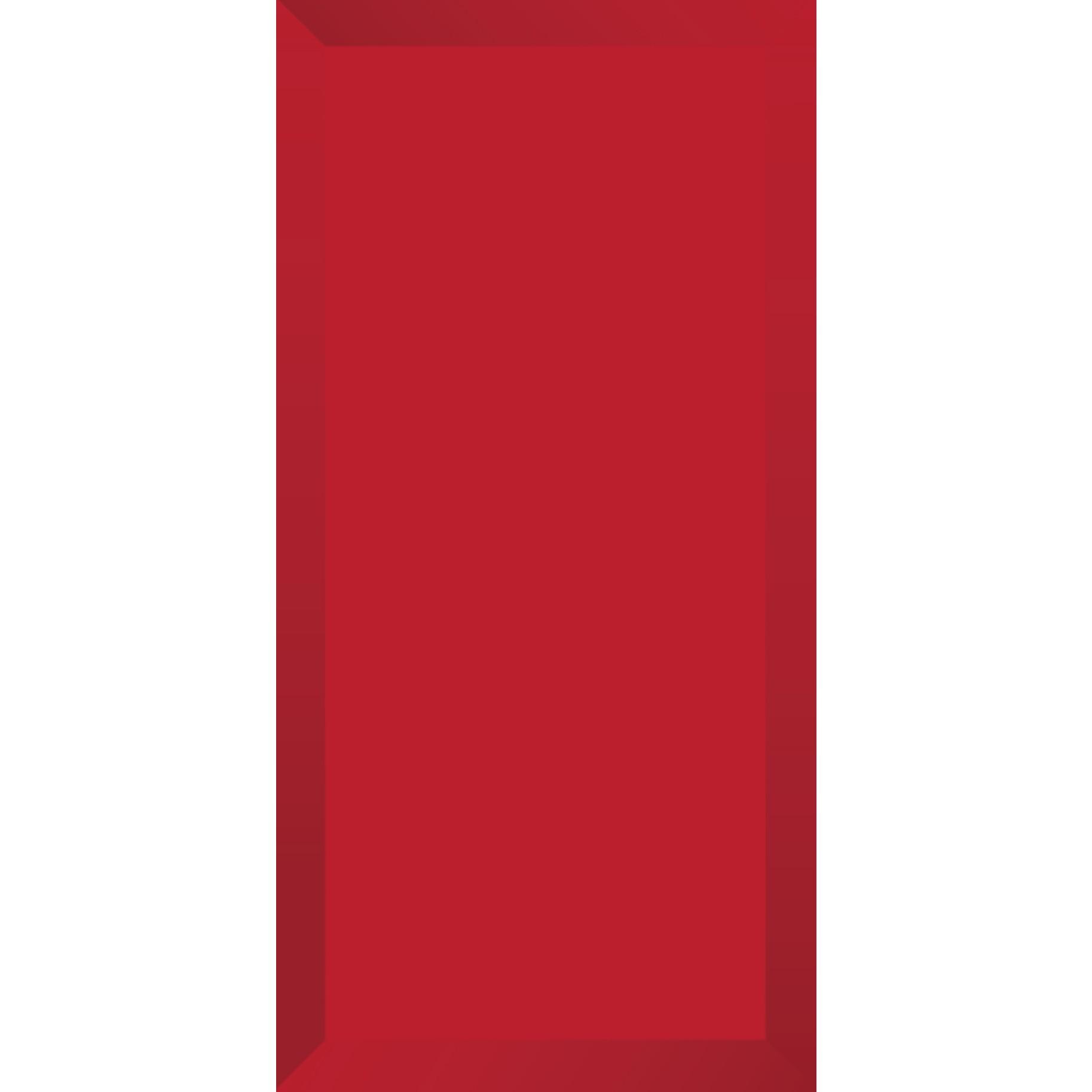 Revestimento Tipo A Brilhante Brick Vermelho 10x20cm Tecnogres