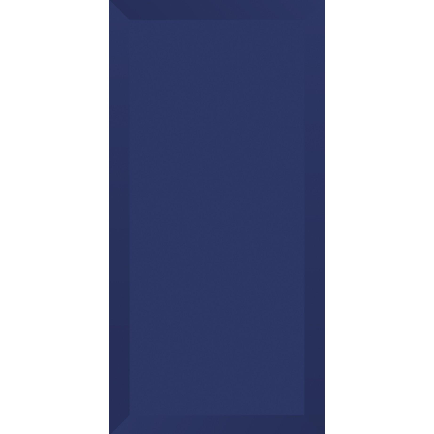 Revestimento Tipo A Brilhante Brick Azul Escuro 10x20cm Tecnogres