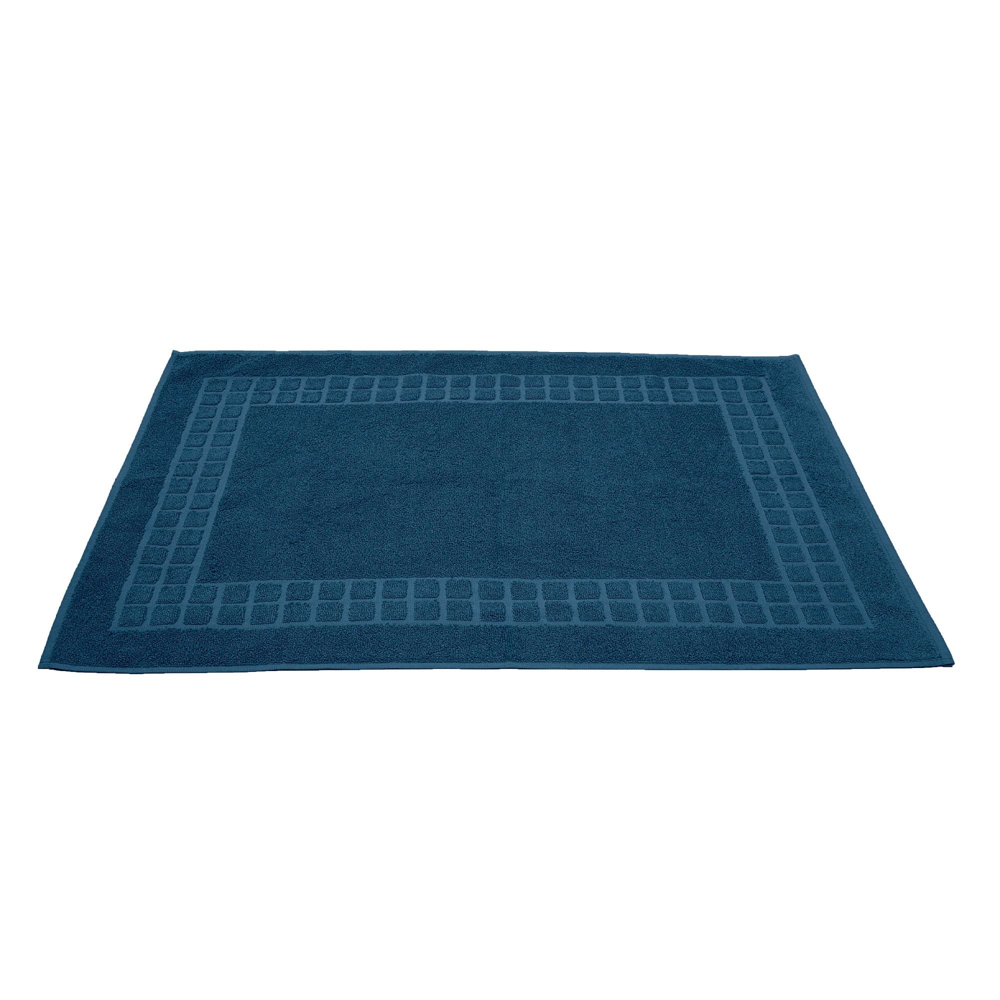 Toalha De Piso Domus Azul Marinho 50x80 cm 100 algodao - Buettner