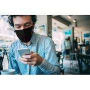 Kit Máscaras 3M Compre 2 Leve 3 de Tecido Reutilizável para Uso Diário Tamanho Único Preta